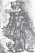 Crocodanilo skiss