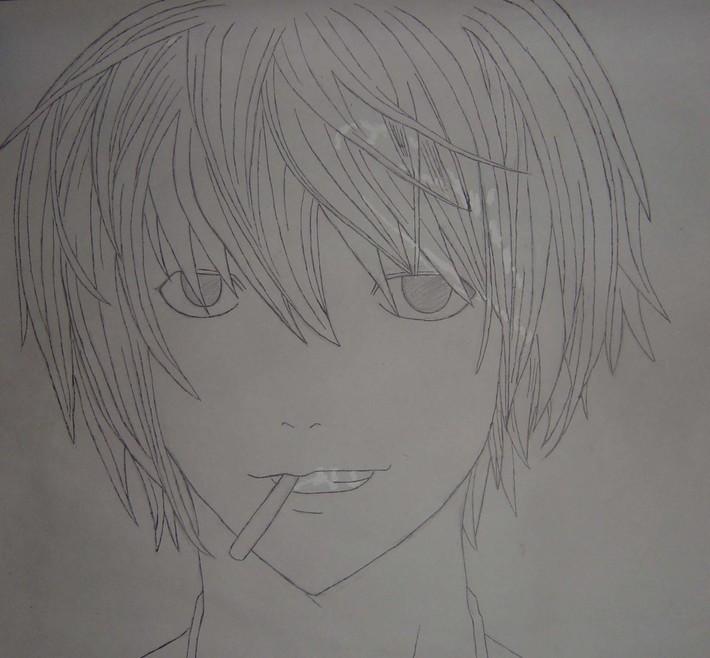 fan art bild på Matt från Death note ;)