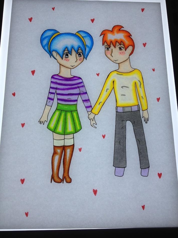 "Arisu and Maro - ""you and I together"""