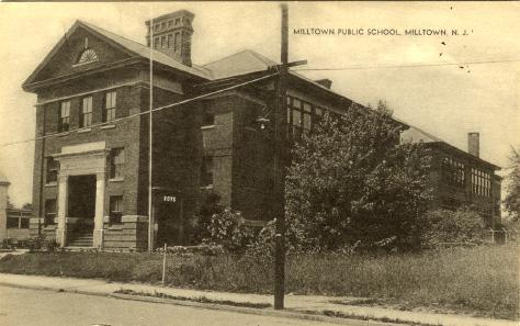 Milltown Public School Postcard
