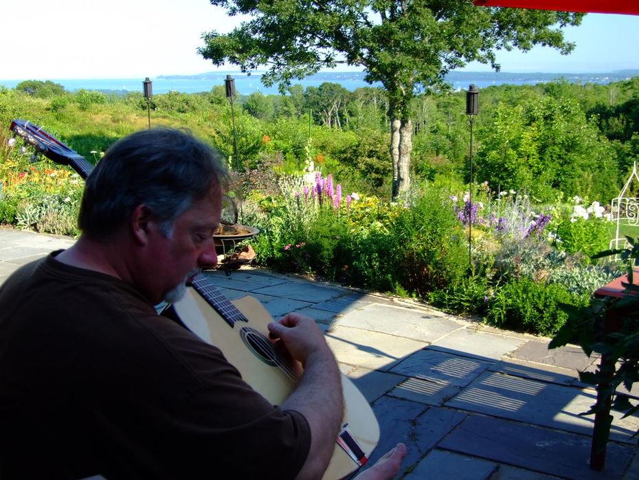 Bill Djangoin' in Maine