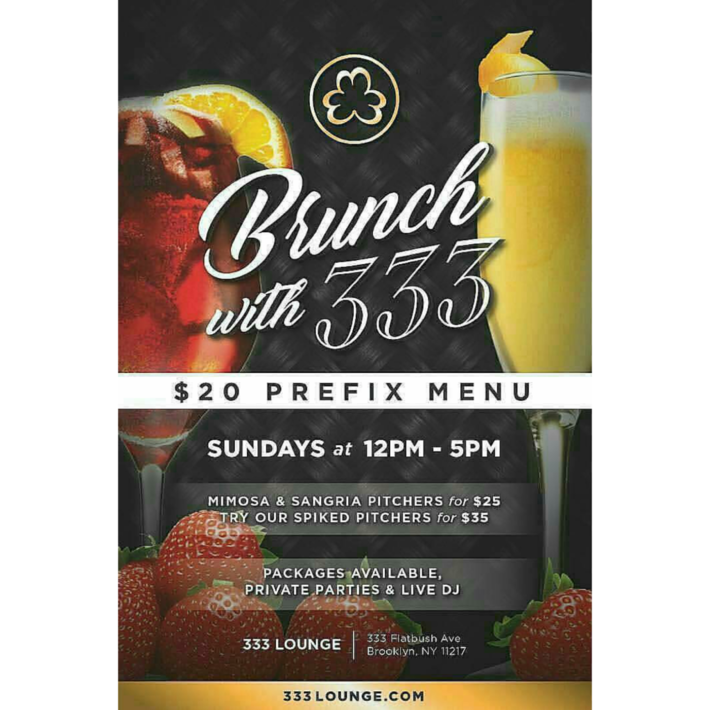 333 Lounge Brunch