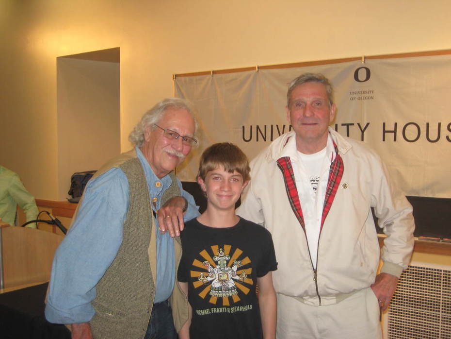 Me, Mr. Babs and Mr. McClanahan of the Merry Pranksters