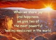 Happiness & joy - healing medicines
