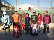 Tennis Junior Tournament in Siros