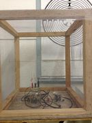 Faraday cage and field strength bench experiments - With Cymatics Imaging