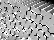 hexagon-metal-bars-29274223
