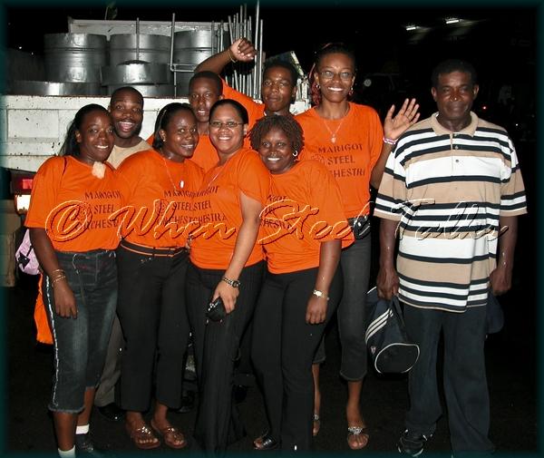 Marigot Senior Steel Orchestra - 'Pan By The Bay' - November 1, 2006