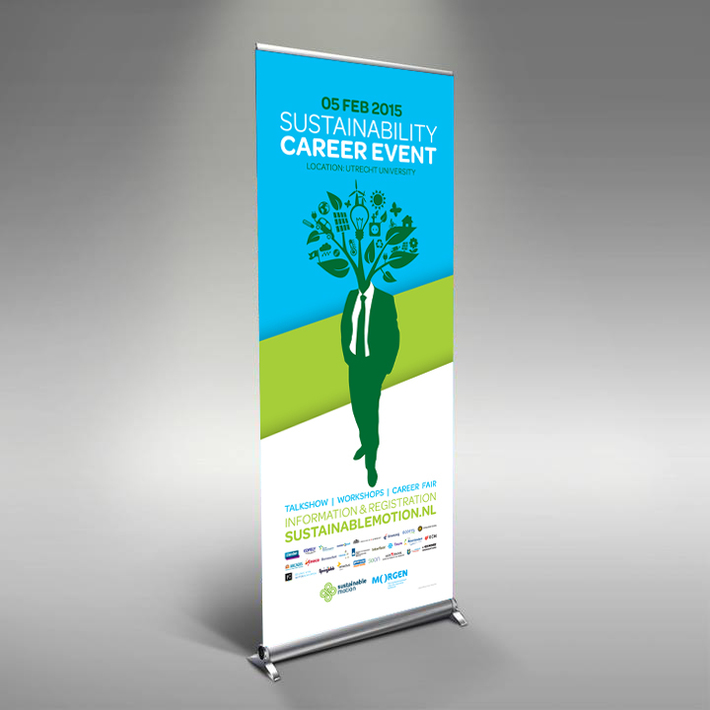 Rollupbanner Sustainability Career Event