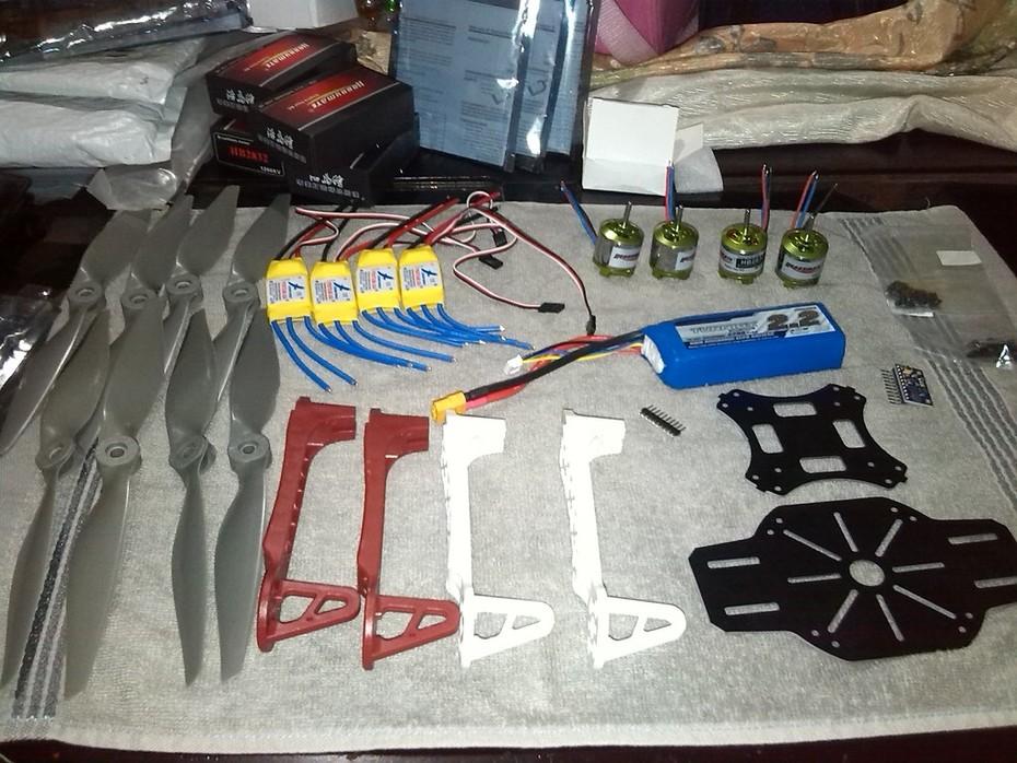 Partes de Drone - Cuadricóptero