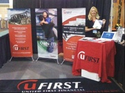 United First Financial EXPO Booth