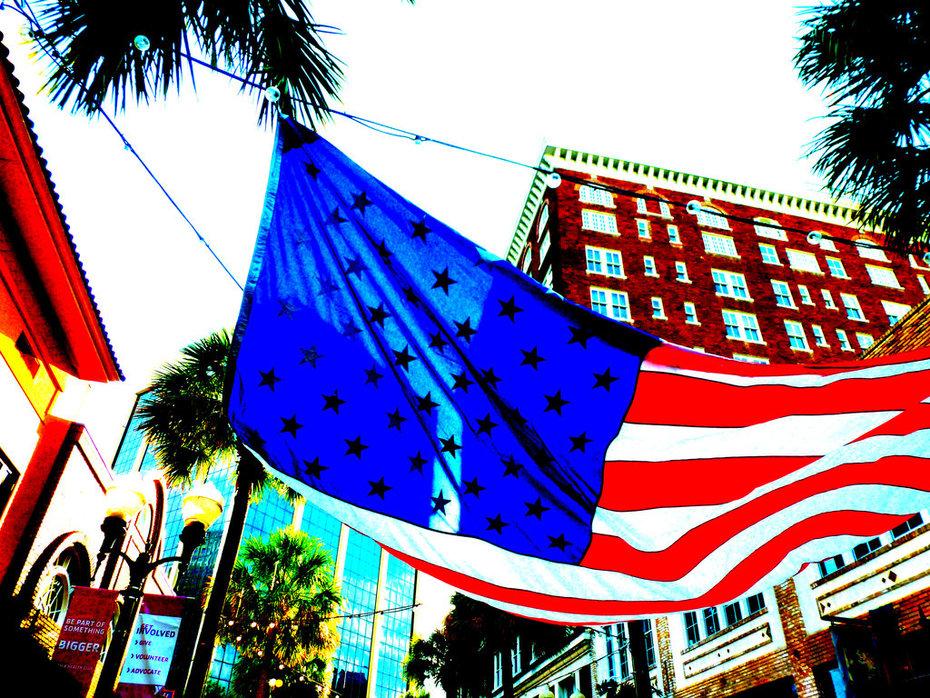 Downtown Flag color study