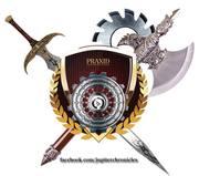 Praxid Logo from THE JUPITER CHRONICLES