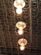 Bedspring Light Fixture - On the Border