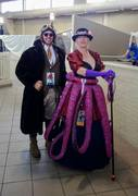 She made that tentacle skirt!