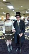 Cute Steampunk couple