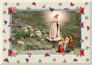 Porta Retrato de Nossa Senhora e os Pastorzinhos