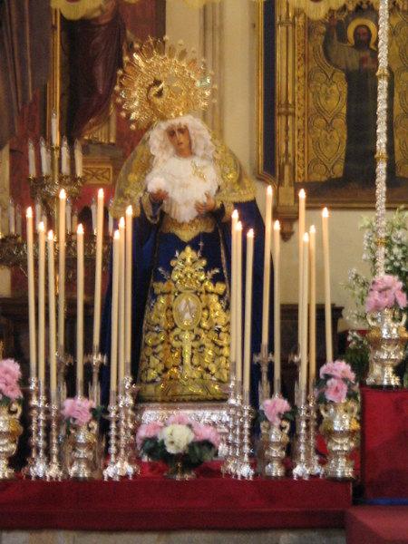 Inteonização de Nossa Senhora em tamanho Real
