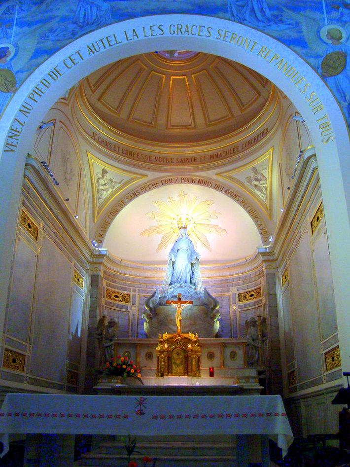 Altar da Capela da Medalha Milagrosa