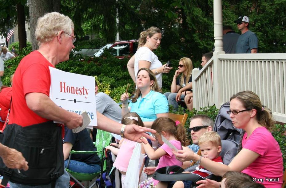 Memorial Day weekend parade in Boalsburg