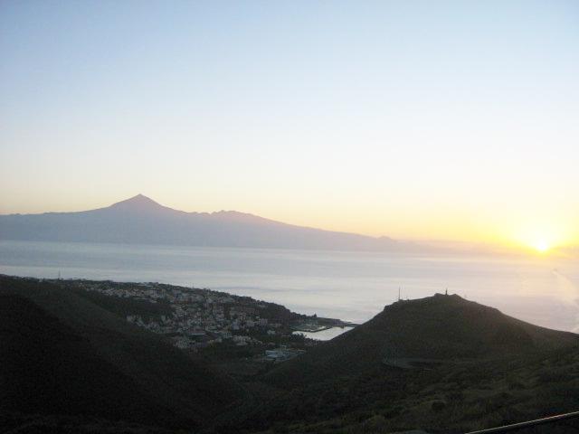 sunrise above SanSeb