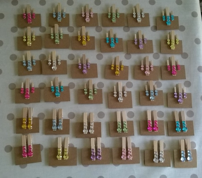 Fundraising for KAS - sparkly pegs