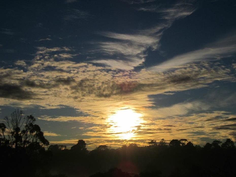 Sunrise. Ballarat Australia