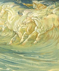Neptune´s horses ~ walter Crane 1845-1915