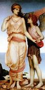 Venus and Cupid_evelyn de morgan_1855-1919