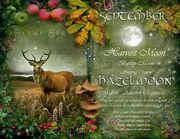 September Hazel Moon