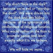 we will hide no more