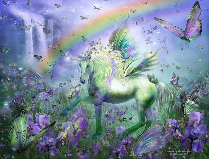 _Unicorn and the rainbow