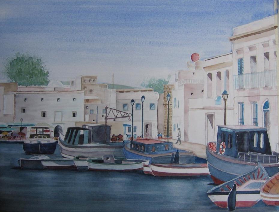 Bizerte - coin du Vieux Port