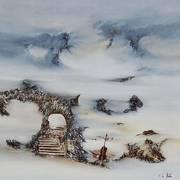 Les marches célestes ( 100 x 100 )