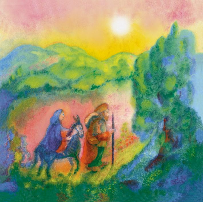 De Nazareth pour Bethéem