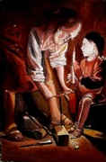 Saint Joseph charpentier de Georges de La Tour