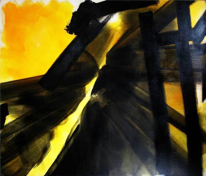 1987-approx-Hommage-soulages-Acryl-sur-toile-138x166cm