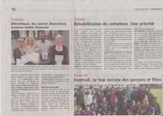 article le télégramme pour séance de dédicace du 15 mai 2016 001