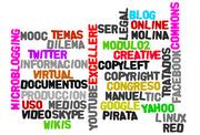 Nubes de palabras creadas en el MOOC Herramientas TIC - 2do Álbum