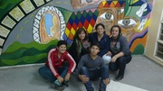 "Mural del CESEP N° 7 ""Rumbo al Centenario"" 2014-06-16"