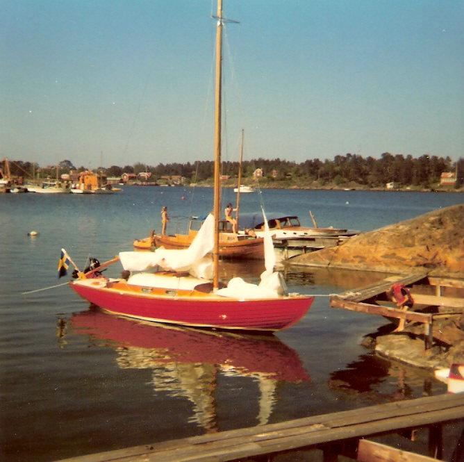 Folkbåt nr 439 i Arkösund