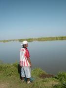 Pescando por la mañana
