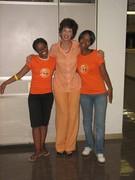 Aubza Masie, Elsabé Olivier and Dineo Tshosa