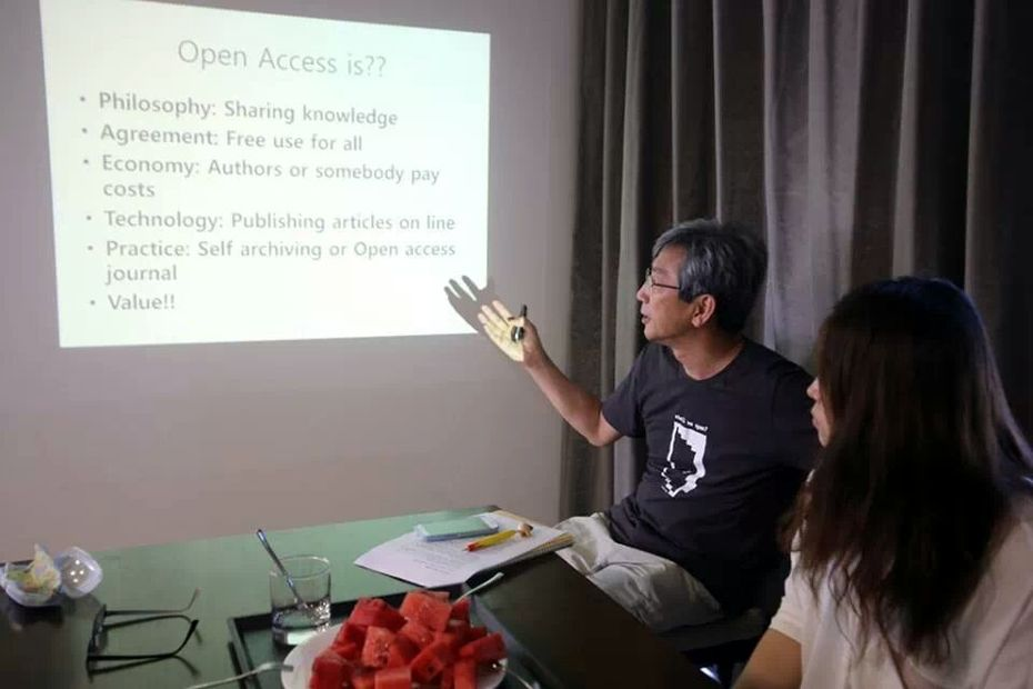 Open  Access discussion at Lakai Sand Pine Resort
