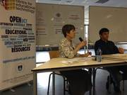 Panelist Barbara Schmid from the UCT Knowledge Co-op