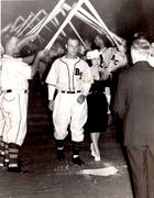 Married at homeplate July 13 1940