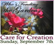 Care for Creation Sunday @ Munsey 9/7/14