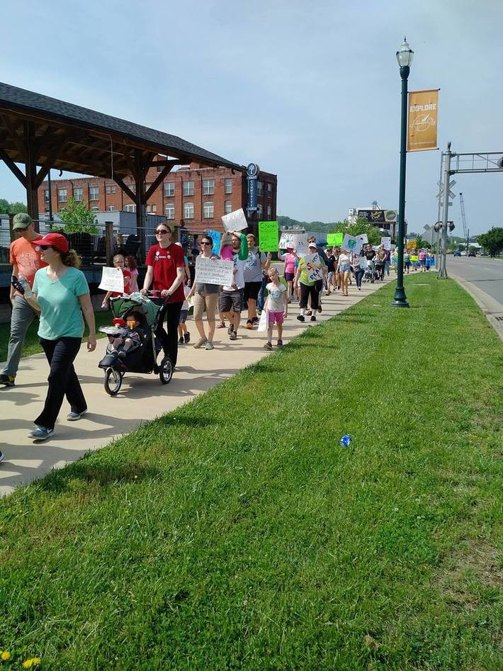 TriCities Peoples Climate March, 4/29/17