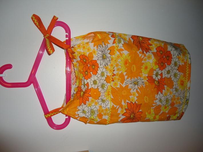 Pillowcase to toddler's dress