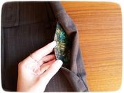 Brown pants details 4